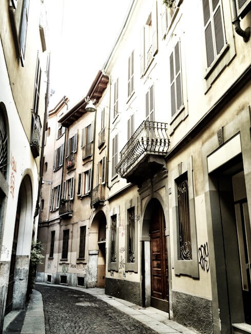 Milan is not just grand boulevards and shopping.