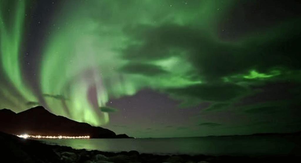 Aurora Borealis in Tromvik Norway