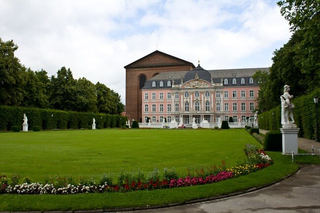 Palace of Trier Gardens and Basilica