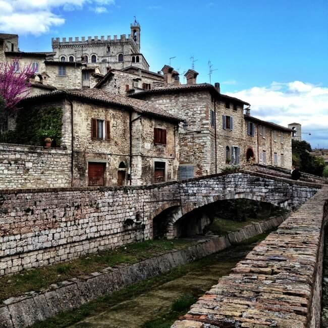 Gubbio in Northern Umbria