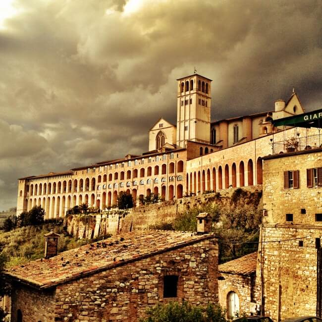 Medieval Towns in Umbria Italy