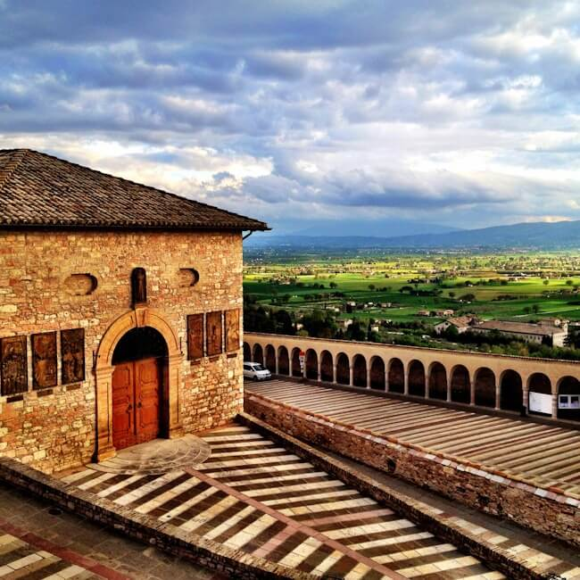 Green Umbria from Assisi
