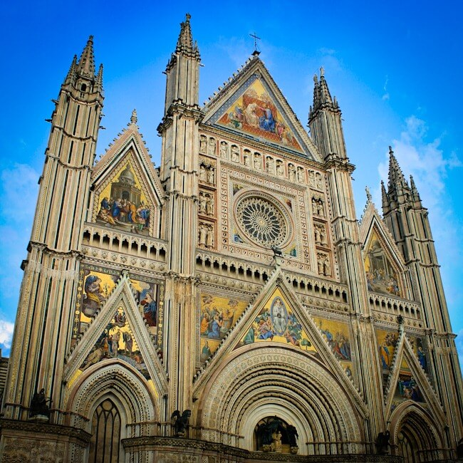 Photo of Orvieto Cathedral Umbria Italy