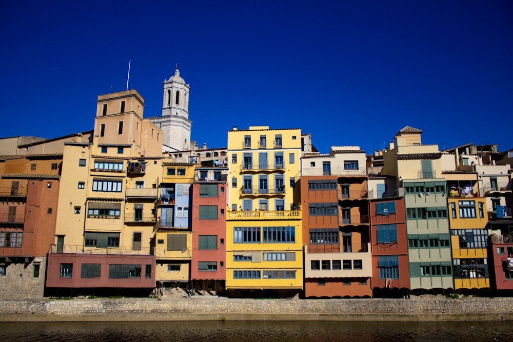 City of Girona in Winter