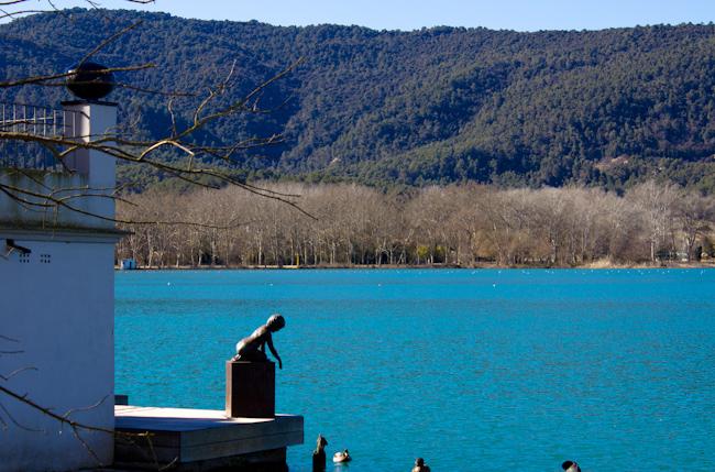Lake Banyoles Costa Brava Spain