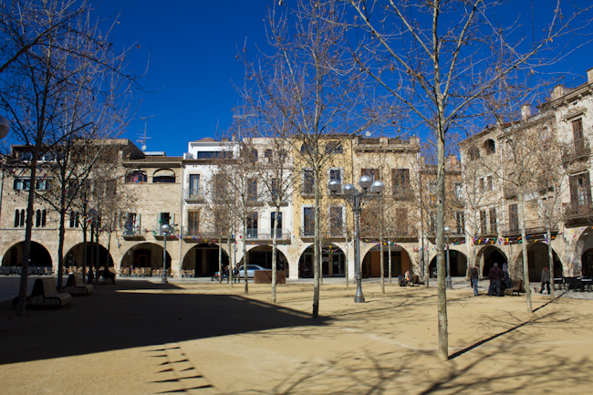 Visiting Banyoles Catalonia Spain