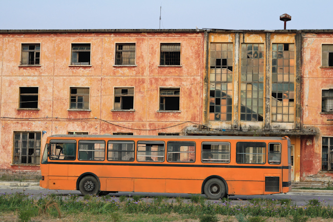 There are still few jobs in Albania with many factories forced to close.