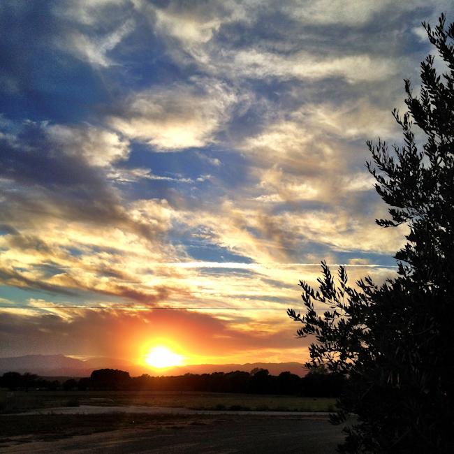 Costa Brava Sunset Along the Greenway