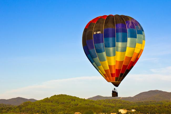 Hot Air Balloon Ride in Costa Brava