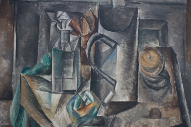 Painting by Picasso at the LaM Modern Art Museum in Lille