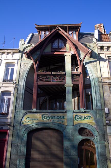 Hector Guimard's Art Nouveau Maison Coilliot in Lille