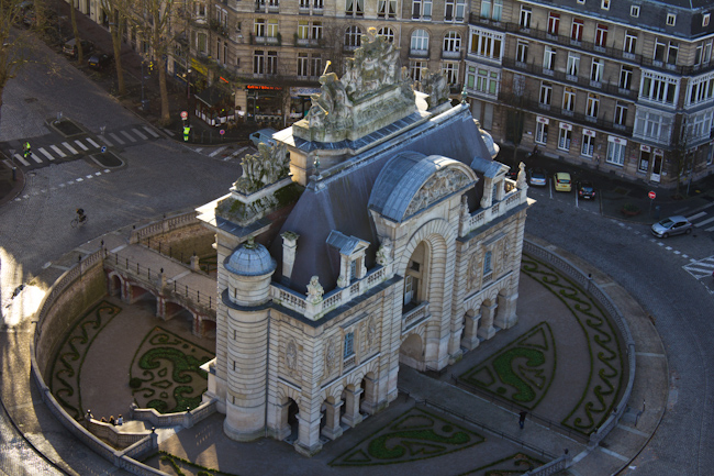 Porte de Paris: The City Gate in Lille France