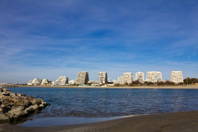 La Grande Motte Beach Near Montpellier