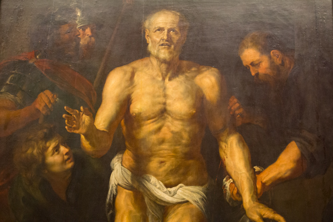 The Dying Seneca at the Alte Pinakothek in Munich