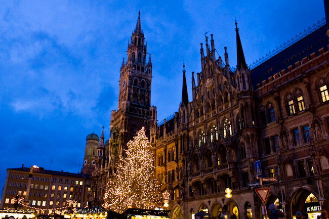 Visiting Munich in Winter