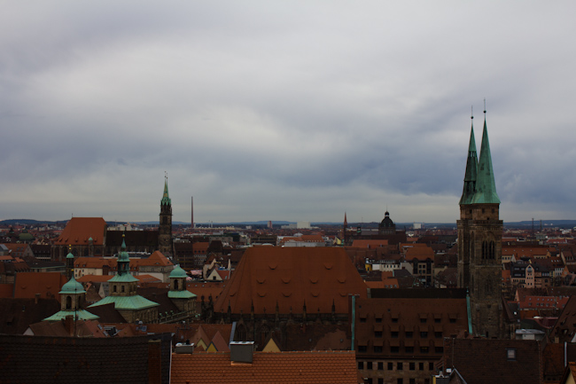 View of Nuremberg from the Imperial Castle
