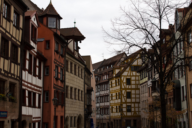 Half-Timbered Houses in Nuremberg
