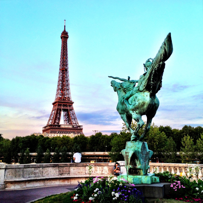 Pictures of Paris: The Eiffel Tower