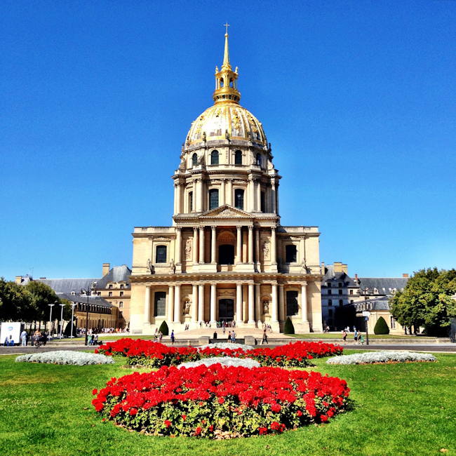 Les Invalides: The Tomb of Napolean Bonaparte