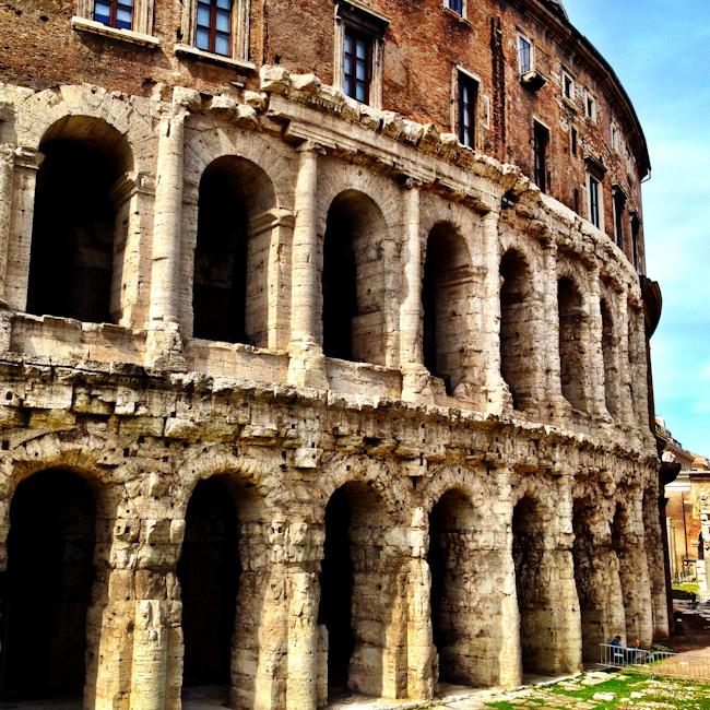 Teatro di Marcello Rome Italy