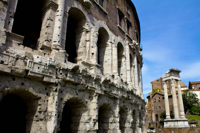 Teatro di Marcello in Rome Italy