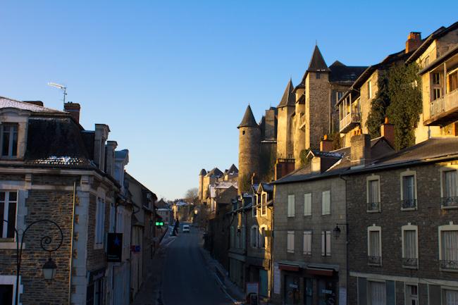 Main Street in Medieval Uzerche