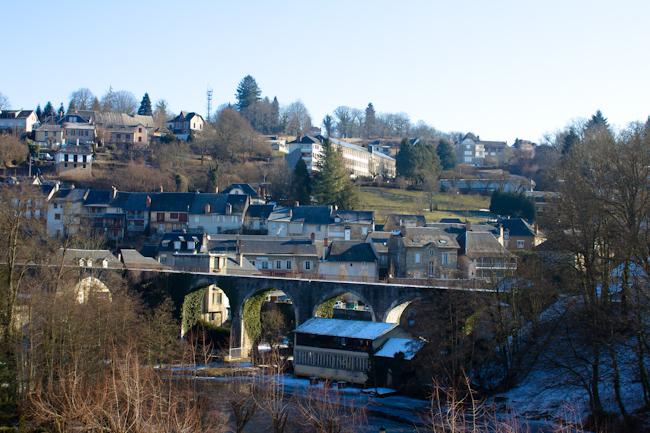Old Bridge in Uzerche France