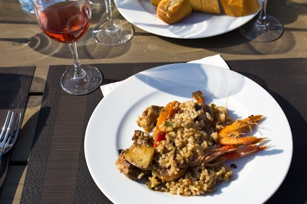 Enjoy Catalan Paella with Rosado