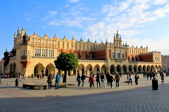 Krakow Cloth Hall & Main Square