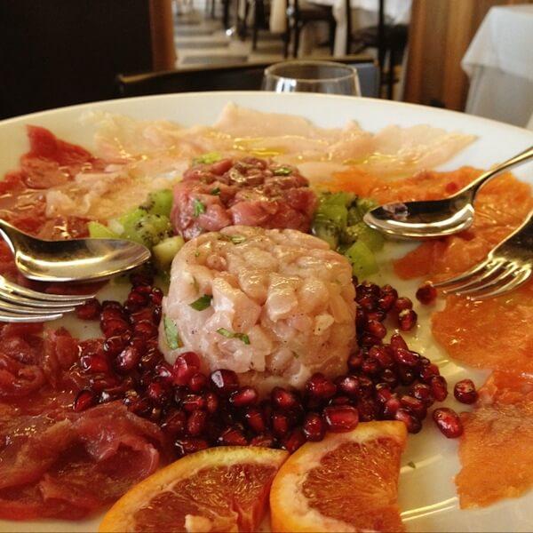 Pierluigi Seafood Restaurant in Rome