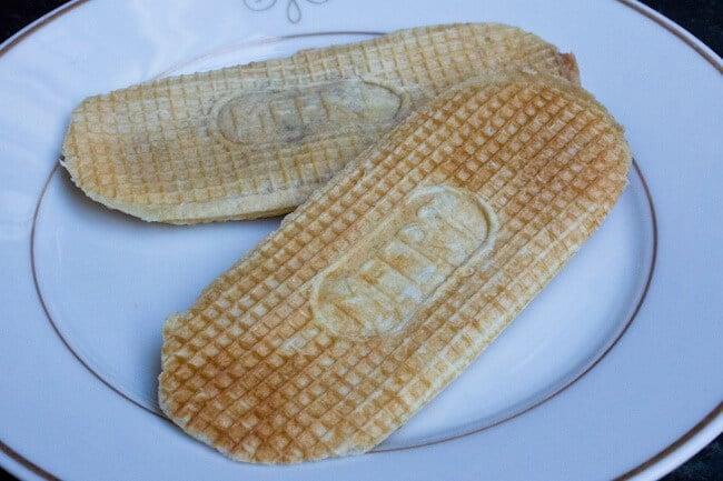 Vanilla Stuffed Waffles From Meert
