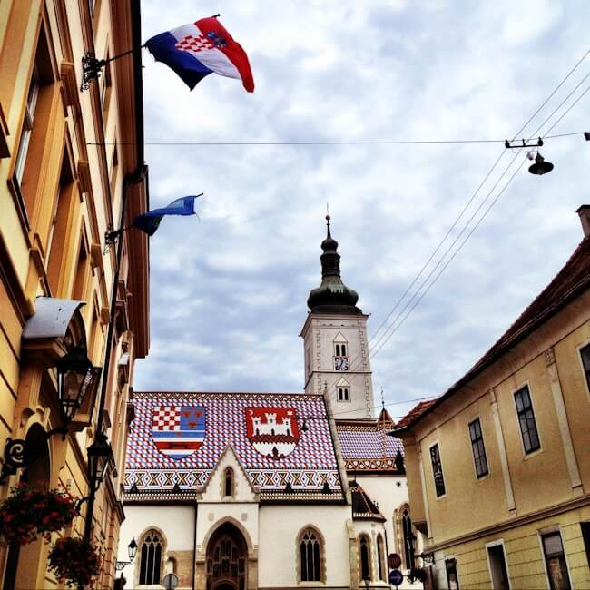 Cathedral in Zagreb Croatia