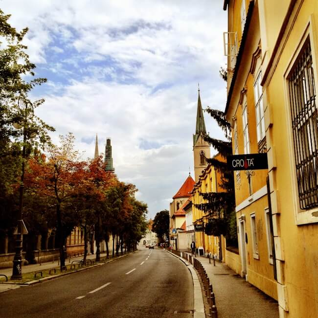 Picturing Zagreb