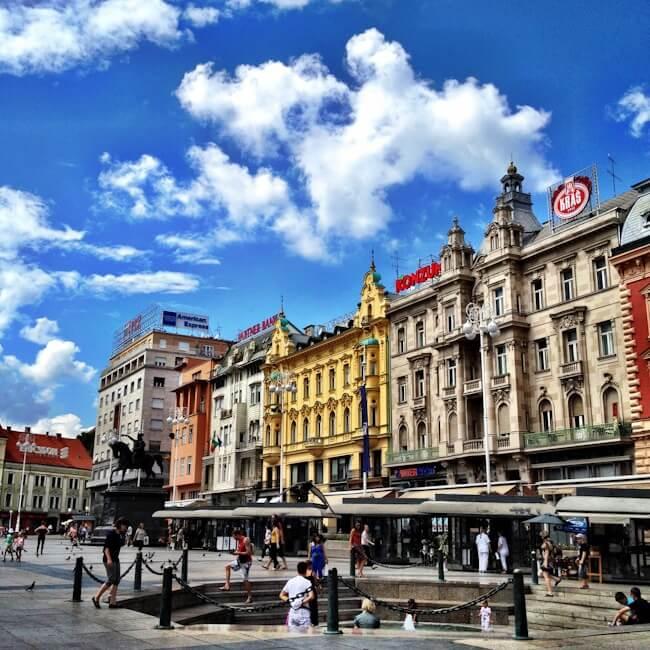 Zagreb Old Town Square