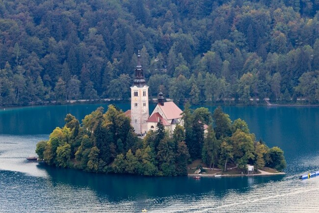 Day Trip to Lake Bled in Slovenia
