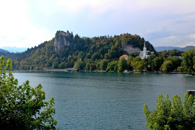 View of Lake Bled from Hotel Park