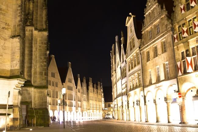 Muenster by Night
