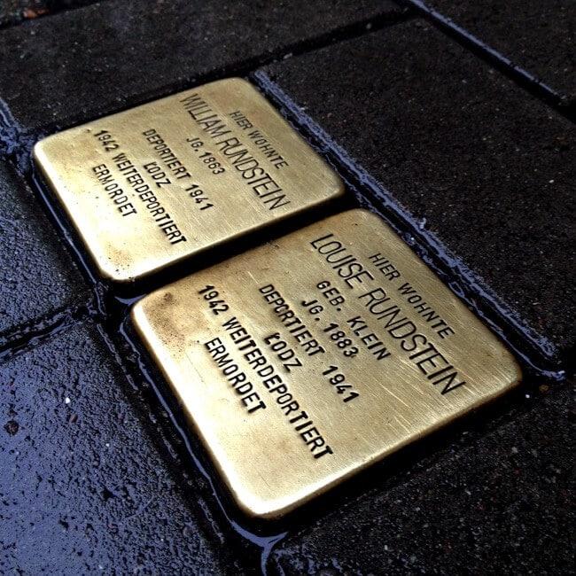 Trip Stones in Hamburg Germany