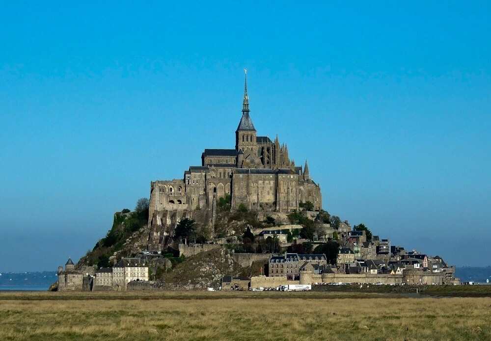 Captivating Mont Saint Michel in France