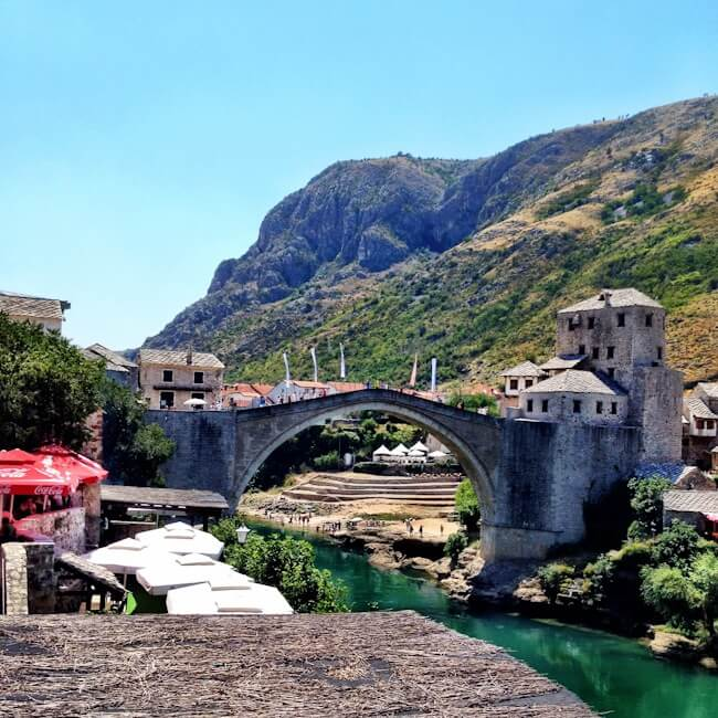No One Jumping Off the Mostar Bridge