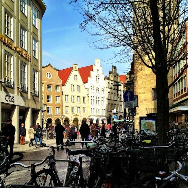 Bikes Everywhere in Muenster Germany