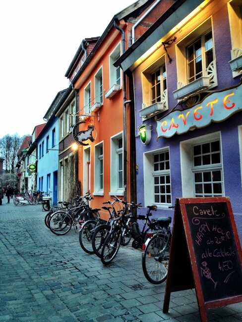 Muenster's Colourful Bars and Restaurants