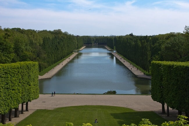 Grand Canal at Parc de Sceaux near Paris