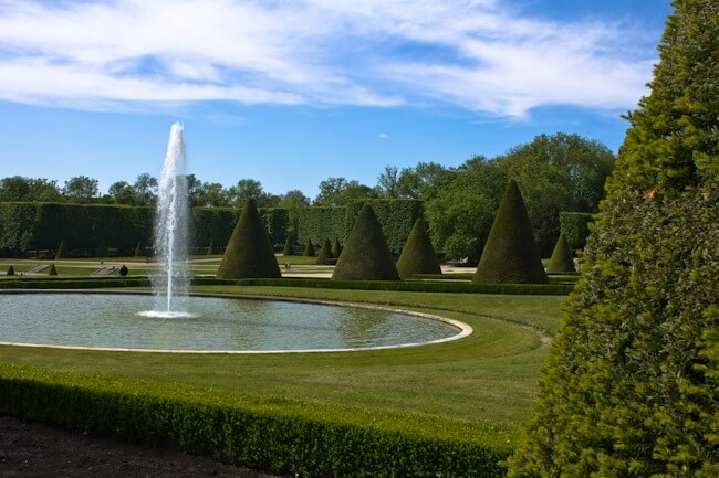 Topiary at Parc de Sceaux, France