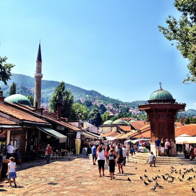 Sarajevo Old Town