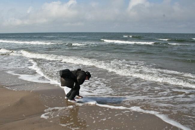 Andrea in the Baltic Sea