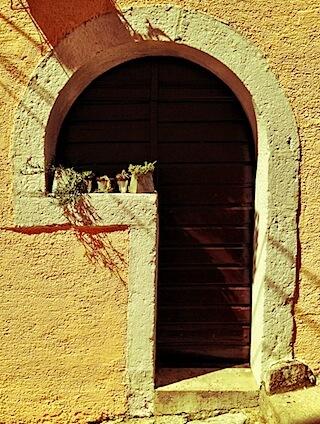 Weird Door in Croatia