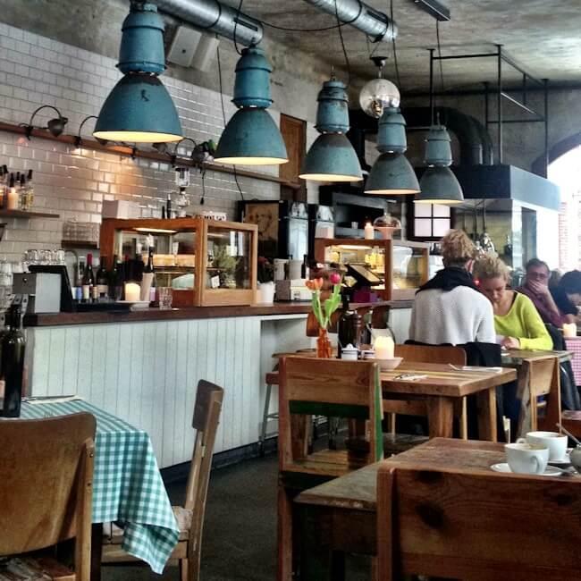 Bullerei Cafe Restaurant in St Pauli Hamburg