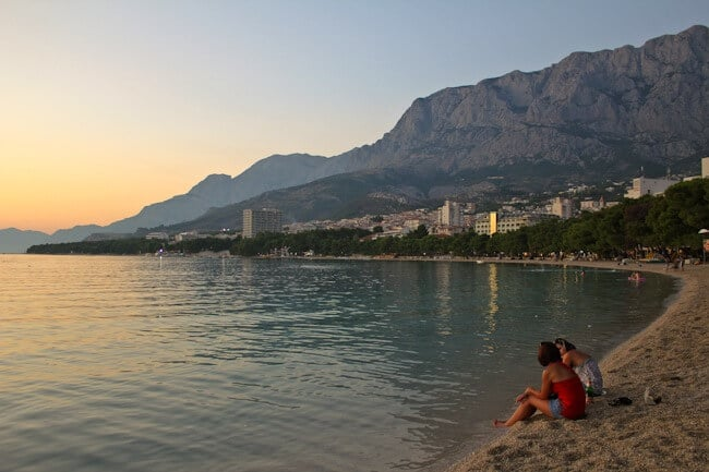 Makarska Beach Resort Town