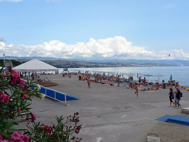 Opatija Concrete Beach Croatia